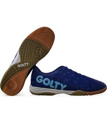 zapatillas golty lisa profesional crack - azul