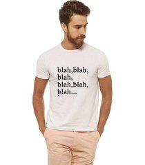 camiseta joss - blahblahblah - masculina