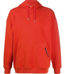 givenchy address relaxed-fit hoodie - red