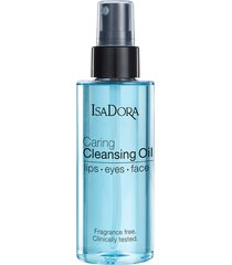 caring cleansing oil lips-eyes-face