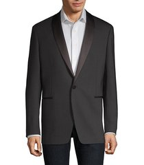 regular-fit shawl tuxedo jacket