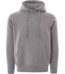 c17 hooded sweatshirt - grey - swtf002