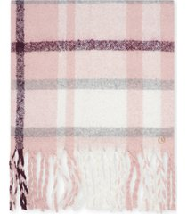 calvin klein plaid blanket scarf