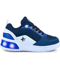 zapatilla azul footy urban 429