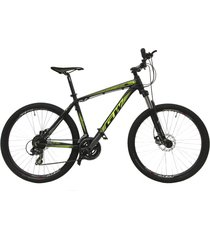 bicicletas todo terreno gw alligator  rin 27.5 shimano 7v tipo moto suspe disc negro amarillo