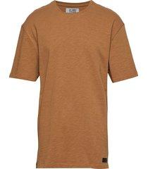 nordhavn tee t-shirts short-sleeved brun just junkies