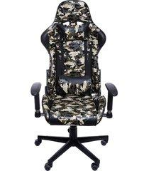 cadeira de escritório f16 - army camuflagem