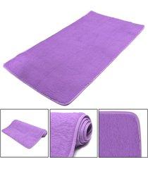 mat moda dormitorio estera del piso mullido manta antideslizante salón del hogar del amortiguador alfombra negro - violeta