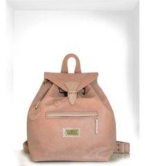 mochila rosa isabella cruz carteras