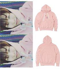 kpop got7 cap hoodie youngjae sweatershirt pullover sweater coat unisex