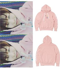 kpop got7 cap hoodie youngjae sweatershirt pullover sweater coat unisex
