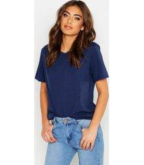 basic t-shirt, navy