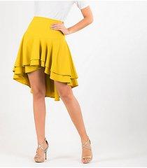 faldas amarillo derek 818449