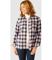 blouse paola marine::lavendel::offwhite