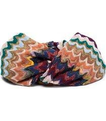 missoni crochet-knit headband - multicolour