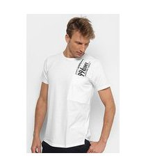 camiseta dimy long estampada masculina