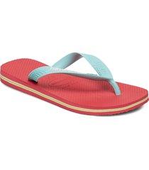 brasil logo flip flop shoes summer shoes flip flops multi/mönstrad havaianas