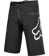 pantaloneta bermuda fox ciclismo mtb downhill enduro mx  color negro