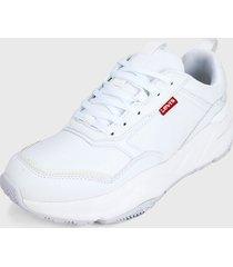 tenis blanco levis