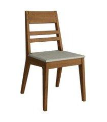 conjunto com 2 cadeiras craft garapa