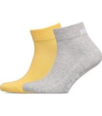 levis mid cut sprt sock unisex 2p ankelstrumpor korta strumpor gul levi´s