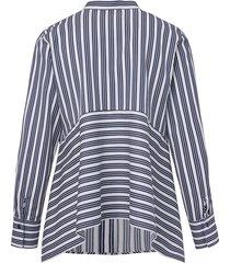 blouse van 100% katoen van windsor blauw