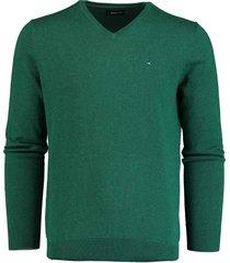 bos bright blue pullover groen v-hals 19305vi01bo/366 emerald