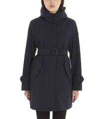 woolrich ws belted fayette coat