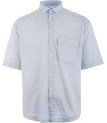 hugo eliando shirt - light blue 50405763