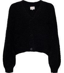 eevapw ca gebreide trui cardigan zwart part two