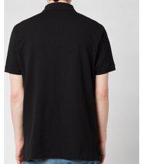polo ralph lauren men's custom slim fit mesh polo shirt - polo black - m