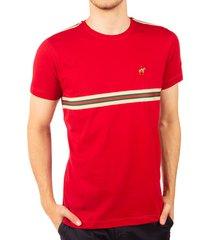 camiseta cinta a rayas rojo ref. 107101119