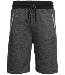 galaxy by harvic men's french terry shorts