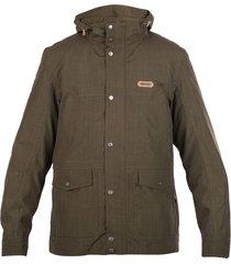 chaqueta nalca fusion-3 verde militar / grafito lippi