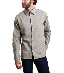 larch organic cotton flannel shirt