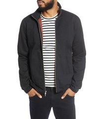 men's bldwn nomez fleece zip jacket, size medium - black