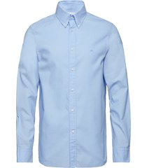 button down washed o overhemd business blauw calvin klein