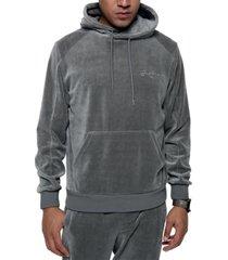 sean john men's regular-fit velour hoodie