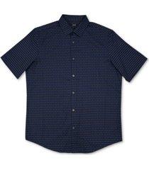 alfani men's luke plaid woven shirt, created for macy's