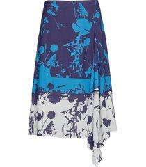 samanth knälång kjol blå ted baker