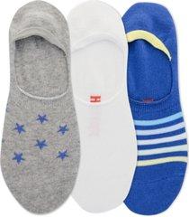 hot sox men's 3-pk. sneaker liner socks