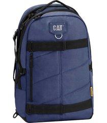 mochila azul cat bryan