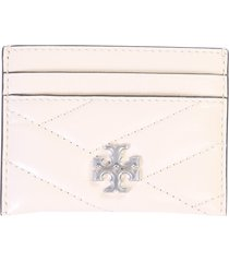 tory burch card holder with logo