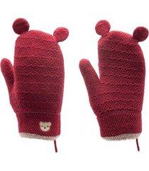 guantes albert rojo topsoc