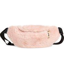 girl's tucker + tate faux fur fanny pack -