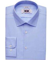 joseph abboud blue twill dress shirt