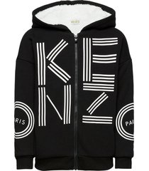 logo jb 11 hoodie trui zwart kenzo