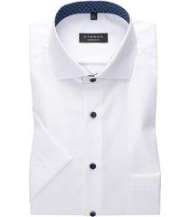 eterna korte mouwen overhemd wit comfort fit