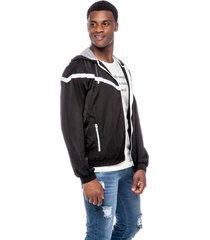jaqueta jeans dialogo esportiva preta - kanui