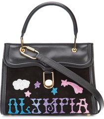 mini mia griffin handbag